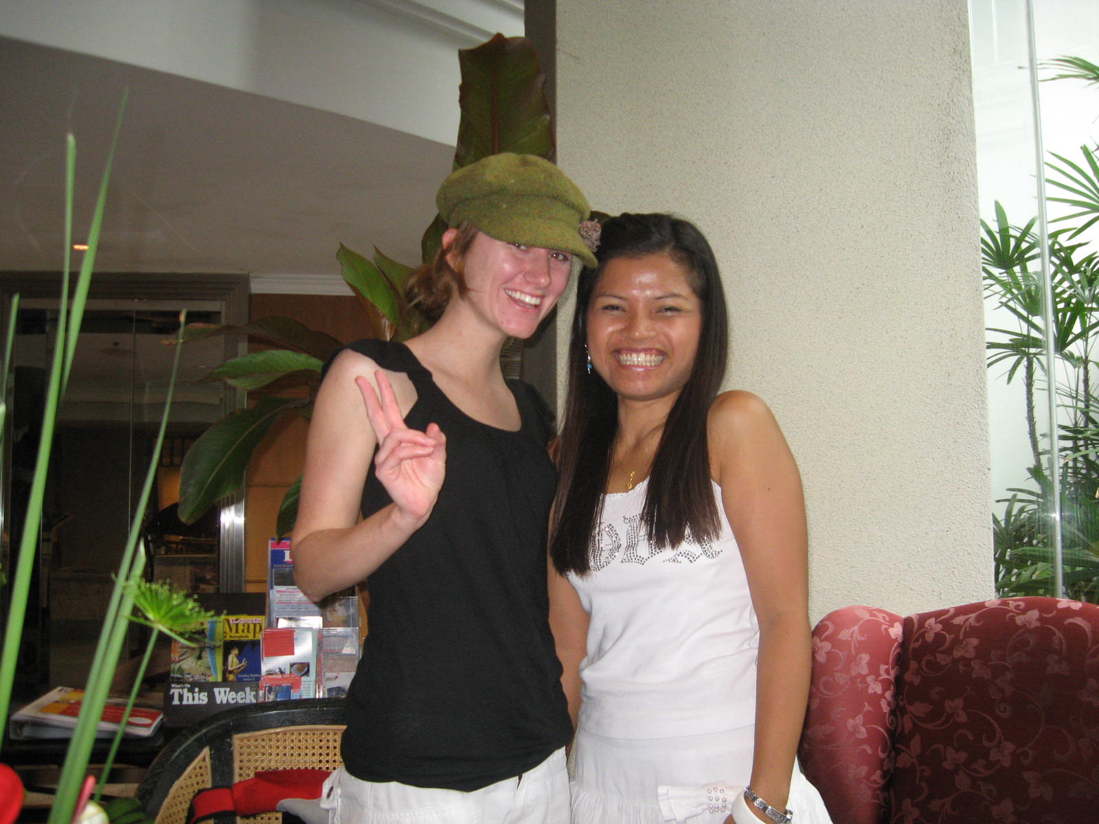 Waew and me in Bangkok