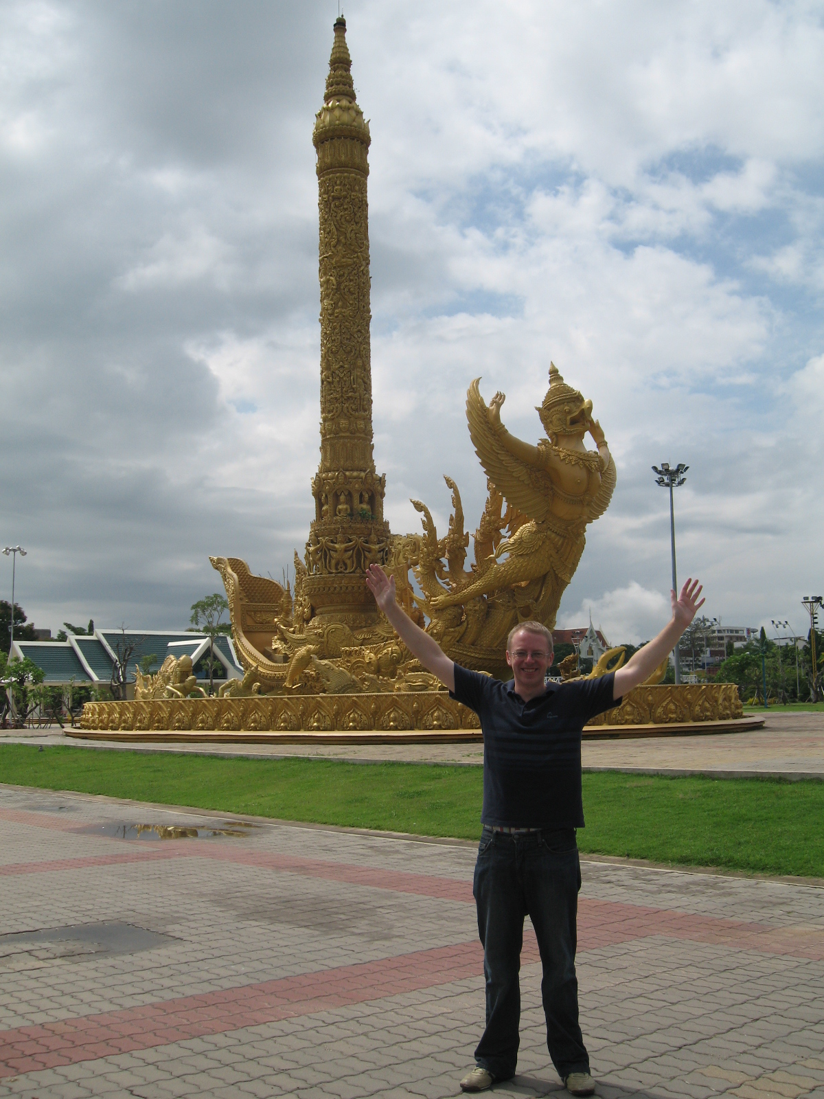 Jeab's visit to the Candle Festival in Northern Thailand