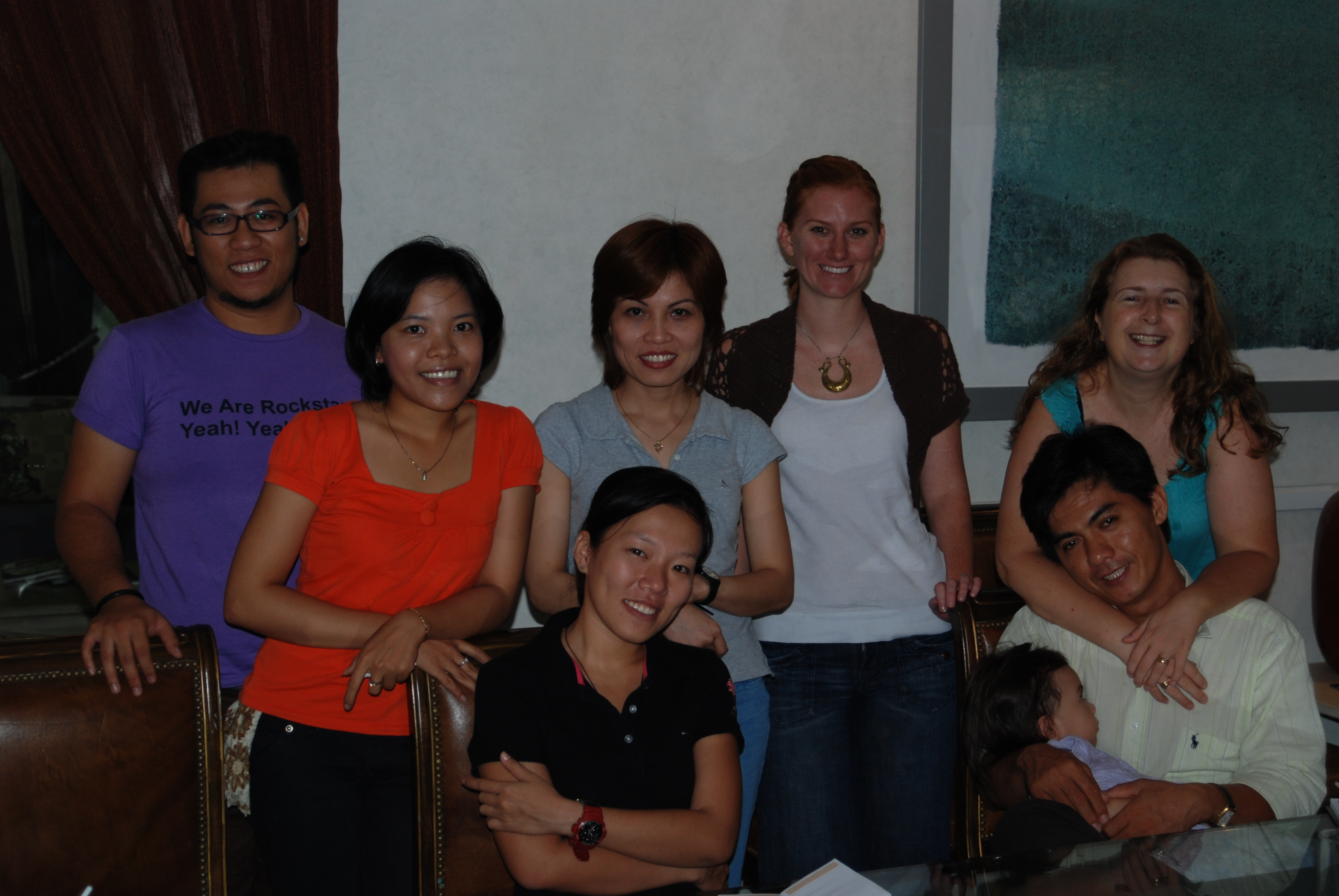 Guide training in Saigon