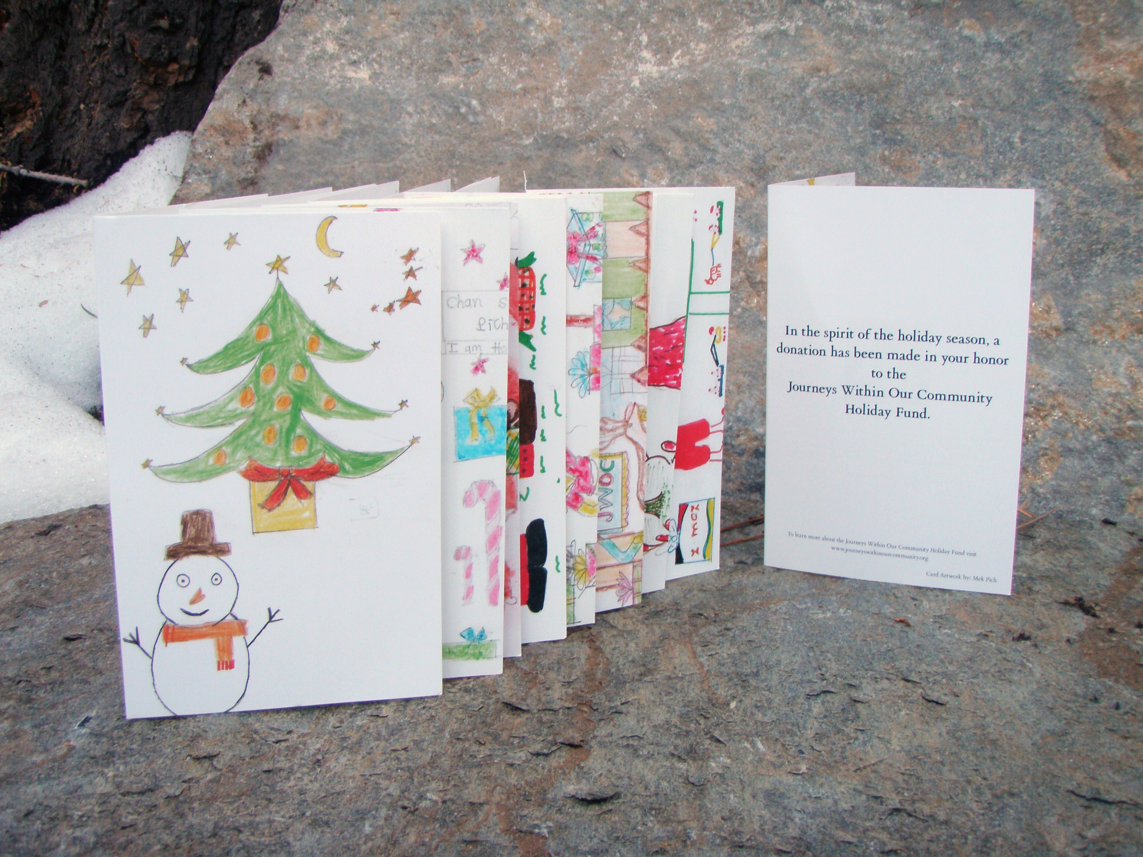 Give Holiday Cards that Give Back