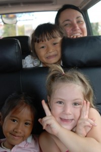 A Day of Genius Mothering OR Driving from Siem Reap to Phnom Penh with kids the right way