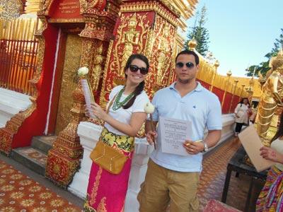 Andrea Chiavaroli's honeymoon