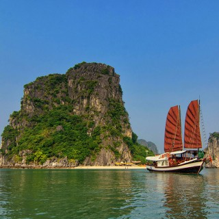 Halong Bay boat tour in Vietnam