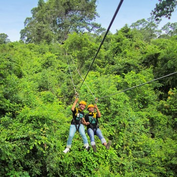 Family adventure tour in Thailand