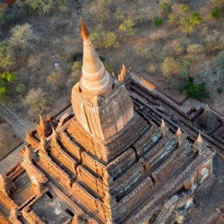 Temples at Bagan in Myanmar