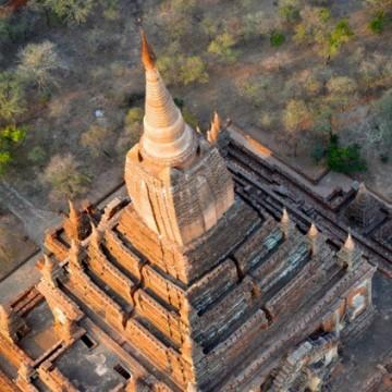 Temples at Bagan in Myanmar