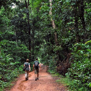 Kulen Mountain hike in Siem Reap, Cambodia