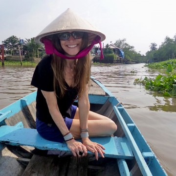 Exploring the Mekong Delta in Vietnam