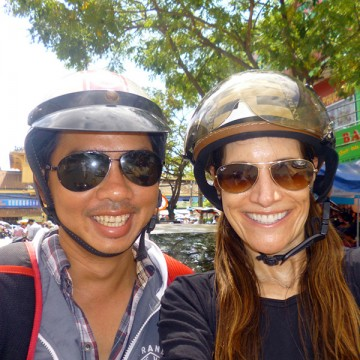 Tour Saigon, Vietnam by motorbike