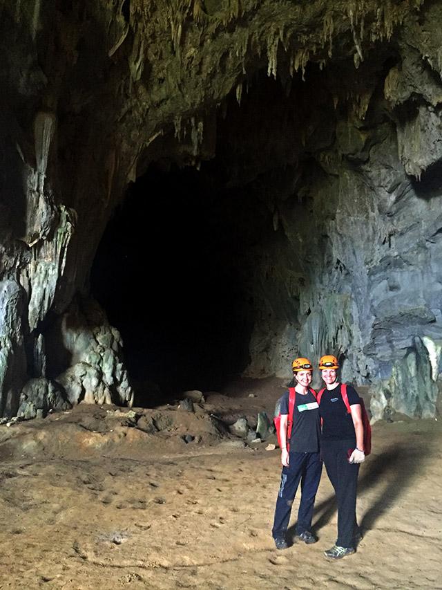 Caving in Vietnam