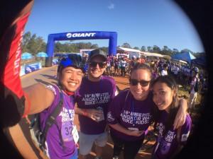 Narla, Vin, Naida, and Kanika of the Cambodia office.