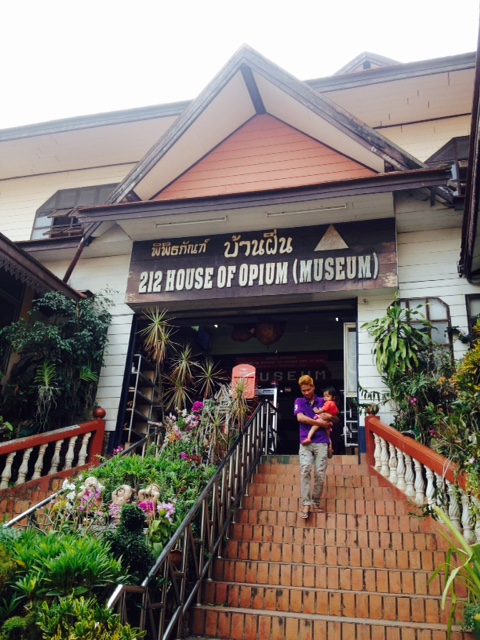 The Opium Museum, located at the Golden Triangle.