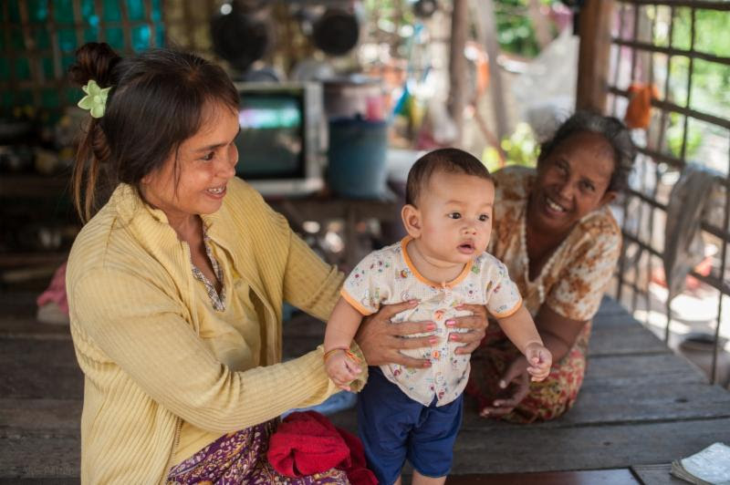 Mother's Day in Cambodia