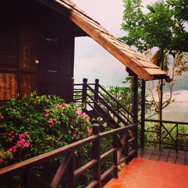 Guest Pavilion at Luang Say Lodge.