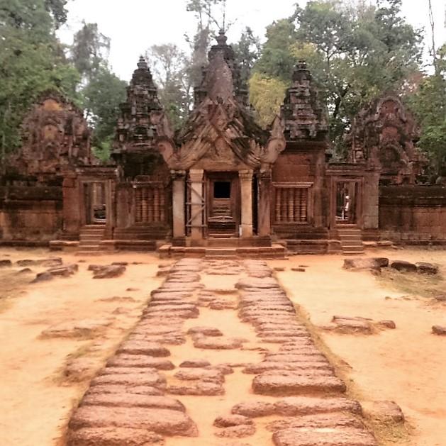 Banteay Srei.Image