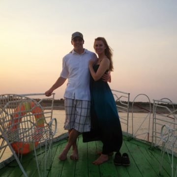 Honeymooning in Myanmar