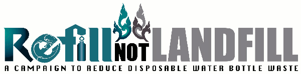 Refill Not Landfill logo