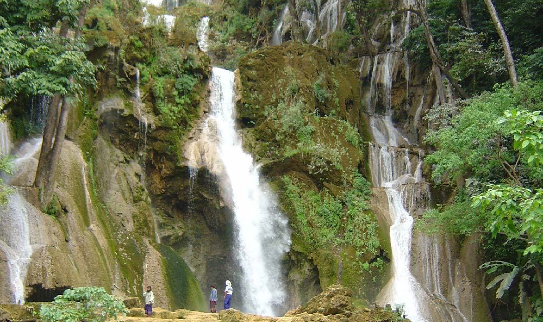 Luang Prabang Laos waterfalls
