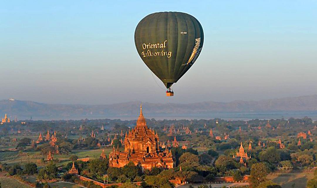 Myanmar Bagan balloon rides